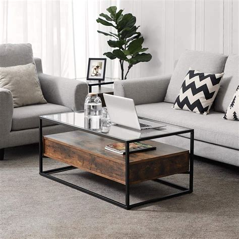 glass coffee tables   living room craves