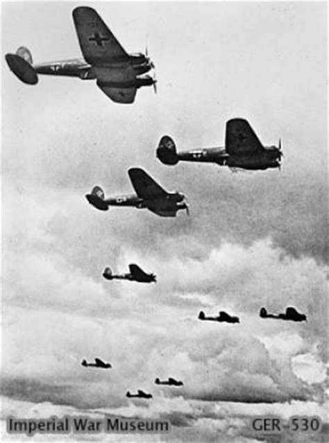 heinkel   german medium bomber  ww
