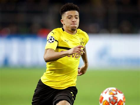 Jadon Sancho to miss Manchester City reunion due to injury ...
