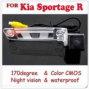 Wire Wireless Car Rear View Camera For Kia Sportage R Kia