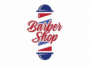 Barber Shop Logo Concept by Drew Beamer - Dribbble