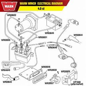 Warn M8000 Winch Wiring Diagram