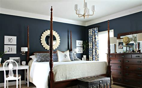 U.s. Navy Home Decor : Fabulous Navy Blue Bedroom Designs