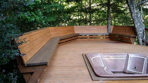Deck Bench Design by Bench Railing And Deck Bench Plans