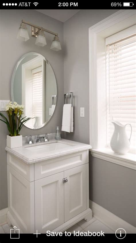 ideas  grey bathroom vanity  pinterest
