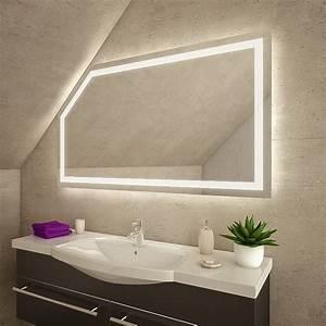 Spiegel Für Dachschräge : yanagod led badspiegel mit dachschr ge online kaufen ~ Sanjose-hotels-ca.com Haus und Dekorationen