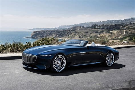 Mercedes-maybach 6 Cabriolet Unveiled At Pebble Beach