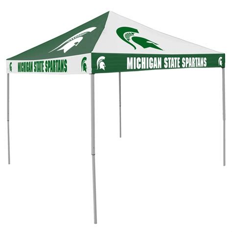 michigan state spartans tailgate tent canopy checkerboard