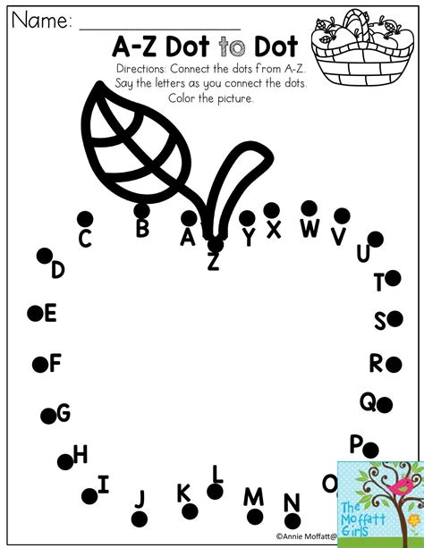 dot alphabet worksheet  print dot alphabet worksheet
