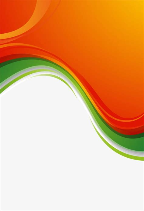 orange border vector material vector border orange