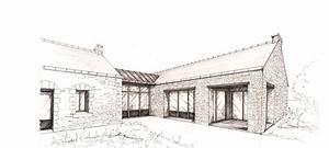 Dessin Intérieur Maison : charmant plan de maison gratuit plain pied 14 dessin ~ Preciouscoupons.com Idées de Décoration