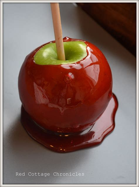 candy apples red cottage chronicles