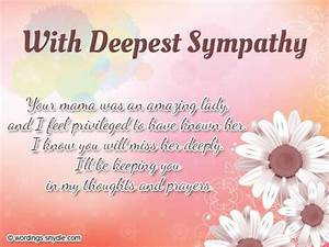 sympathy messages | Sympathy Card Messages Examples ...