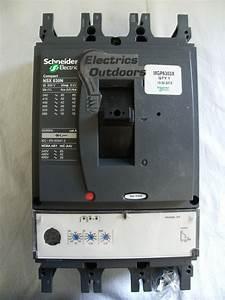 Schneider Electric 230 630 Amp 50 Ka Triple Pole Mccb 415v
