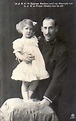 File:Prince Nicholas of Greece and Denmark with daughter ...