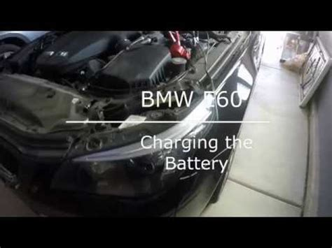 Bmw E60 Battery by Bmw E60 5 Series Battery Charge