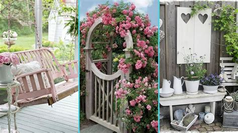 shabby chic garden decor diy shabby chic garden decor ideas 2017 home decor interior design flamingo mango youtube
