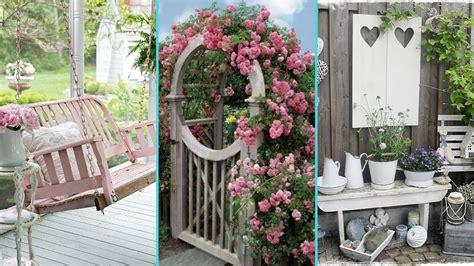 Diy Shabby Chic Garden Decor Ideas 2017  Home Decor