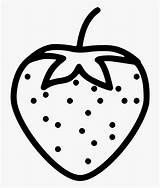 Strawberry Coloring Plant Transparent Icon Berry Clipart Svg Clipartkey Onlinewebfonts sketch template