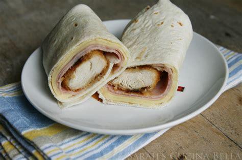 chicken cordon bleu wraps sarahs cucina bella