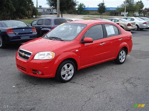 2008 Chevrolet Aveo Sedan Pictures Information And