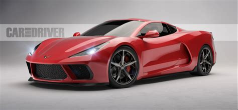 First Look Is This What The C8 Corvette Will Look Like?