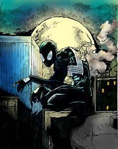 Black Suit Spiderman by Mucidas on DeviantArt