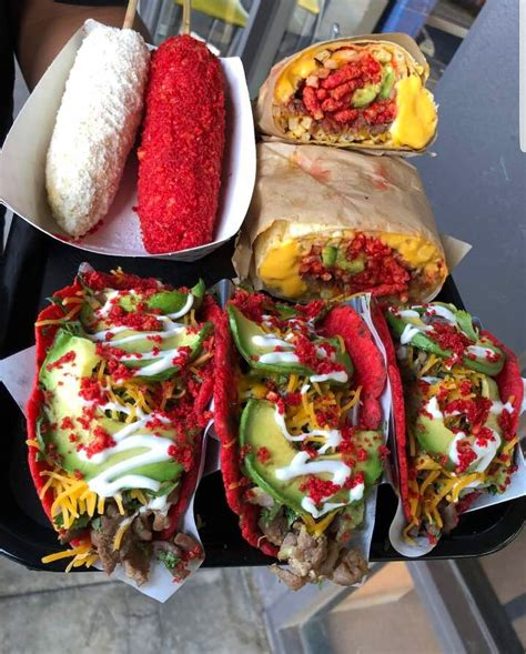 I Ate Tacos In Hot Cheetos Tortillas Burrito With Hot