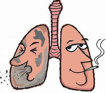 Clipart Smoking Lung Smokers Respiratory Coughing Throat