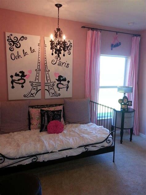 girls paris decorations room home  decoration