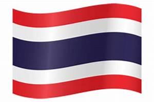 Thailand flag vector - country flags