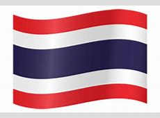 Thailand flag vector country flags