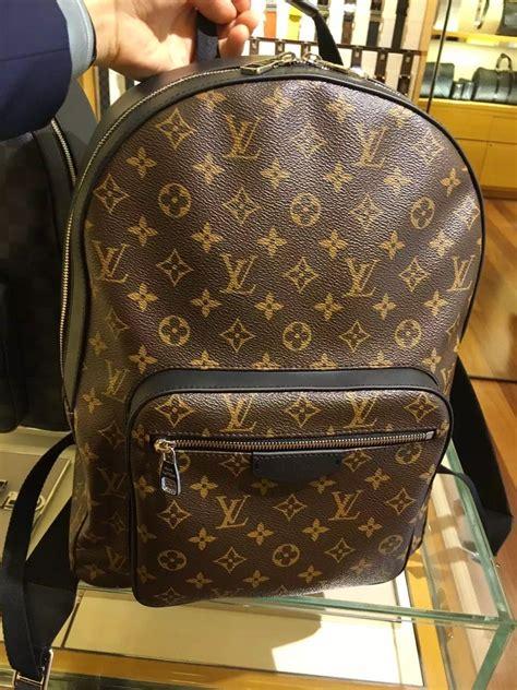 mens macassar josh backpack  louis vuitton louis vuitton bag luis vuitton