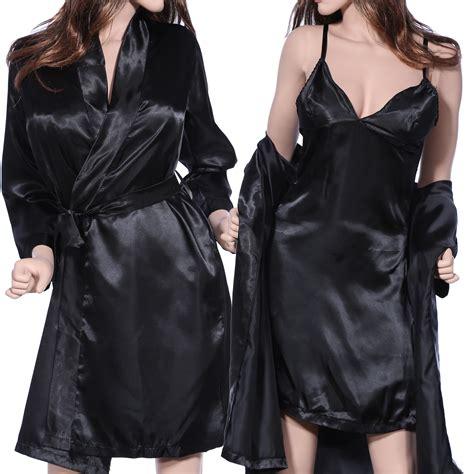robe de chambre femme dentelle nuit nuisette robe de chambre grosse taille
