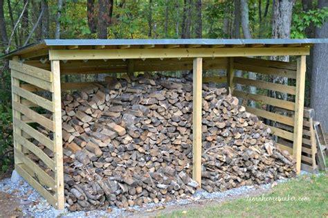 fall yard  homemade sheds  wood shed