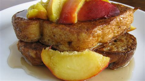 Bourbon Peach French Toast How Sweet Eats