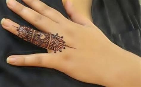 Special Arabic One/only Finger Mehndi Designs 2017 Indian
