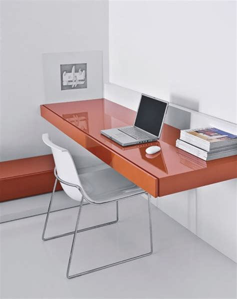 floating wall desk furniture how to work from home with smart desk design