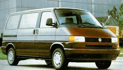 how cars work for dummies 1994 volkswagen eurovan navigation system 1994 volkswagen eurovan review