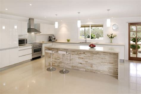 pictures of tiled kitchens caesarstone buttermilk 4220 mkw surfaces 4220