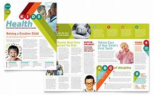 pediatrician child care newsletter template design With childcare newsletter templates