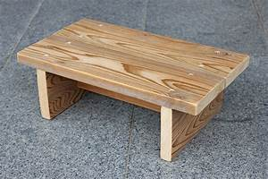 Simple step stool for a child - All