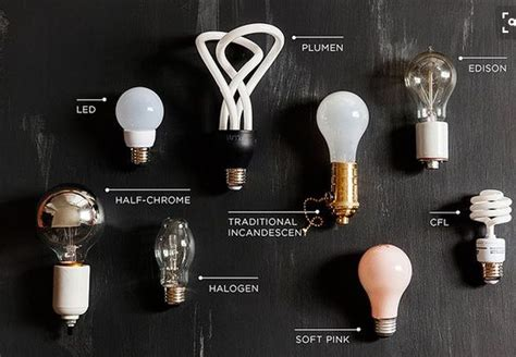 different types of light bulbs how to tell apart different types of light bulbs just by