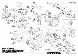 Traxxas T-maxx 3 3 Nitro Monster - Rtr