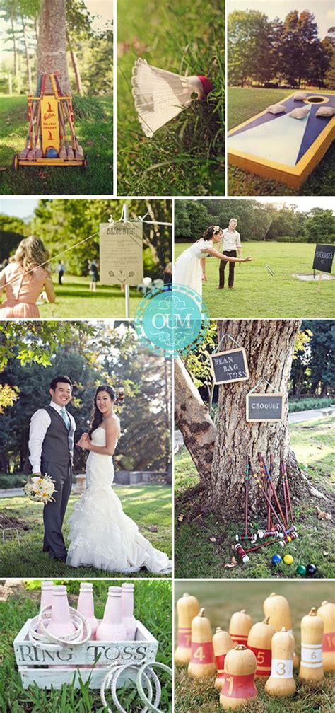 Animer votre mariage avec des jeux traditionnels en plein air   Organiser un mariage