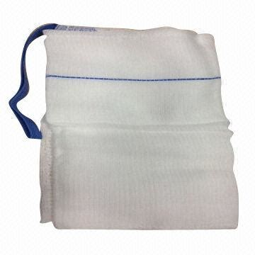 lap spongesabdominal dressing   ray threads blue
