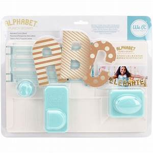 we r memory keepers alphabet punch board 660889 craftie With we r memory keepers letter punch