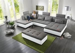 Big Sofa L Form : wohnzimmer wohnlandschaft ~ Eleganceandgraceweddings.com Haus und Dekorationen