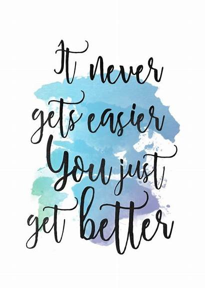 Quotes Watercolor Inspirational Handwritten Calligraphy Sayings Quote