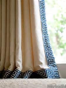 curtain trim on contemporary curtains